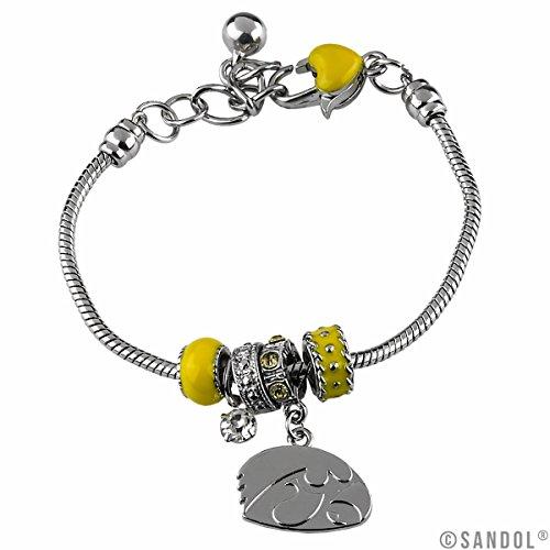 Iowa Hawkeyes Jewelry (Iowa Hawkeyes MVP Charm)
