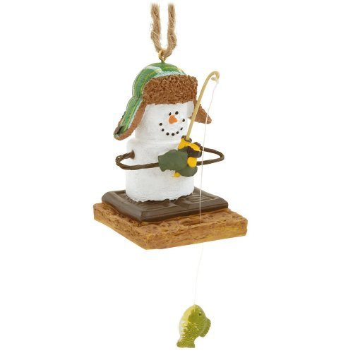 (Midwest CBK S'mores Ice Fisherman Christmas Ornament)