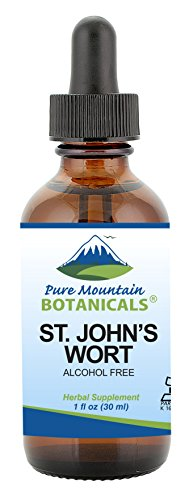 Cheap St Johns Wort Tincture – Kosher Liquid St. John's Wort Alcohol-Free Extract – 500mg – 1oz Bottle