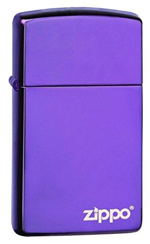 Zippo Slim Pocket Lighter, Abyss