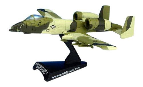 1/100 Die-Cast A-10 Warthog, Peanut (Warthog A10 Diecast Model)