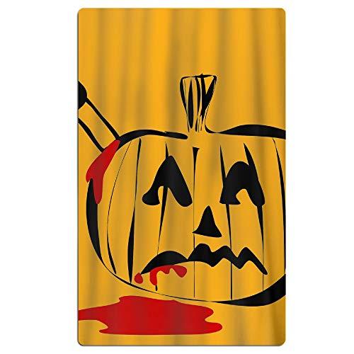 Beach Towel Halloween Tease Pumpkin 31.5