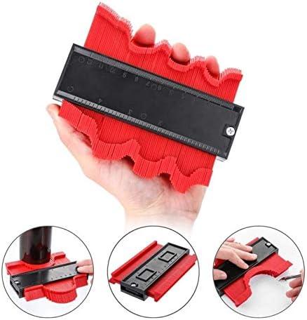 LXY Profile Gauge Shape Gauge Duplicator Profile Duplication Gauge Contour Template Plastic Contour Copy Duplicator Measuring Tool (Color : 50cm)