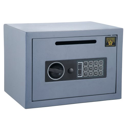 Paragon 7804 Digital Lock and Safe .54 CashKing Depository Cash Drop - Cubic Lock Safe Digital Foot