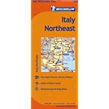 Italy: North East Map MH562 1:400,000