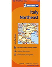 Michelin Italy: Northeast / Italie: Nord-Est Map 562