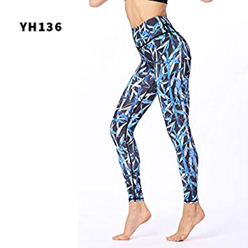 GSYJK Women Yoga Pants Gym Push Up Sport Trouser Women ...