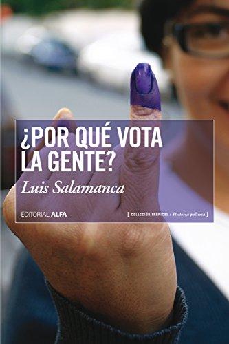 Amazon.com: ¿Por qué vota la gente? (Trópicos nº 100 ...
