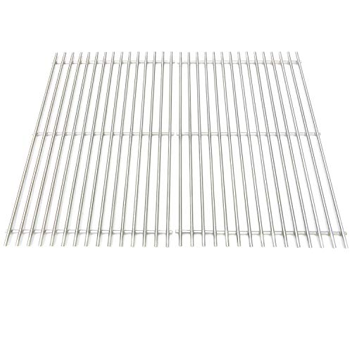 Direct store Parts DS114 Solid Stainless Steel Cooking grids Replacement for Weber Genesis E and S series gas grills, Lowes Model Grills , Weber Original Part 7528 (Aftermarket Parts)
