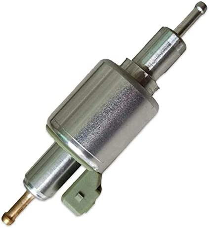 Ksruee Bomba de Combustible Universal para Calentador de estacionamiento de 12V/24V Compatible con Calentadores Webasto Eberspacher de 2KW a 8KW, Bomba de diésel para Calentador de Aire de automóvil