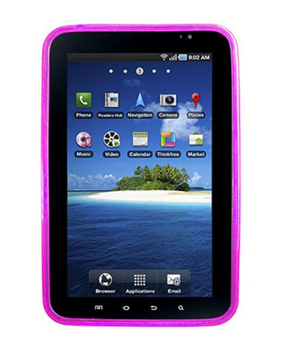 (Qmadix Flex Gel for Samsung Galaxy Tab i800 - Purple)