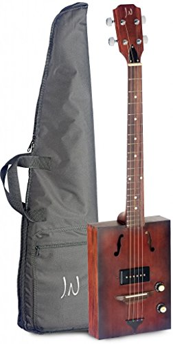 James Neligan 6 String Hogshead Cask Series Acoustic-Electric Cigar Box Guitar ()