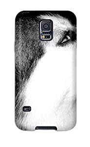 Cheap Snap On Case Cover Skin For Galaxy S5(animal Wolf) 2096773K93501195
