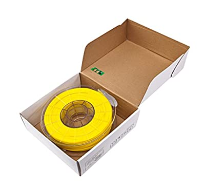 Sindoh 3DWOX Refill Filament PLA Yellow (Compatible with DP200, DP201, 2X) , Spool , 1.75 millimeters Diameter
