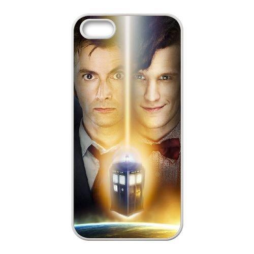 F7Y79 Doctor Who J1J9YR coque iPhone 5 5s cellulaire cas de téléphone de couverture coque WR5HUF2KS blancs