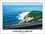 """Mexico Classics """"Salsipuedes"""" Northern Baja California Surfing Poster by Dennis Junor/Creation Captured"""