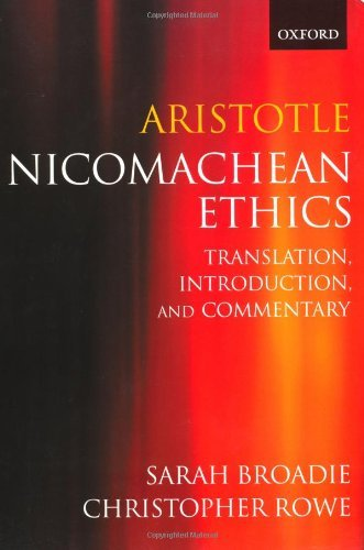 Read Online By Aristotle - The Nicomachean Ethics: 1st (first) Edition PDF