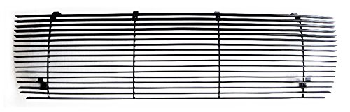 Ford Assembly Grille 96 Bronco (MaxMate Fits 92-96 Ford Bronco/F-150/F-250/F-350 Upper 1PC Replacement Black Billet Grille Grill Insert)