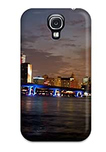 New Miami City pc Case Cover, Anti-scratch Valerie Lyn Miller Phone Case For Galaxy S4