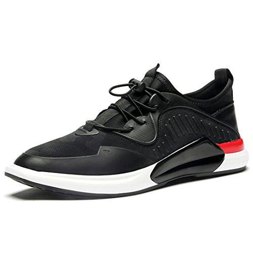 Mens Outdoor Sport Running Walking Shoes Lightweight Casual Sneakers 1718 Black