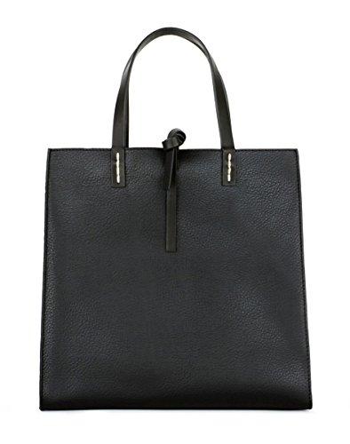 Manila Grace Felicia Bag borsa medium Tote colore nero