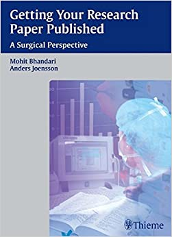 Como Descargar Con Bittorrent Getting Your Research Paper Published: A Surgical Perspective Kindle A PDF