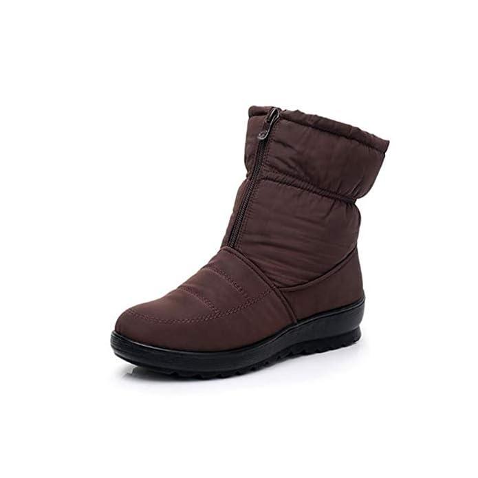 Da E Fmwlst Invernali Casual Flessibile Stivali Nuovi Impermeabile Donna Antiscivolo 37 Neve