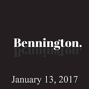 Bennington, Jim Florentine, January 13, 2017 Radio/TV Program