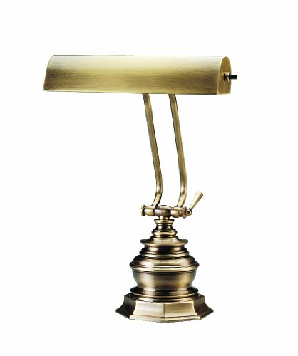 Antique Brass Piano Lamp (House Of Troy P10-111-71 14-Inch Portable Desk/Piano Lamp, Antique Brass)