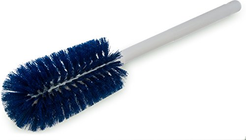 Carlisle 4000114 Sparta Commercial Quality Bottle Brush, 16'' Long, Blue (Pack of 12) by Carlisle
