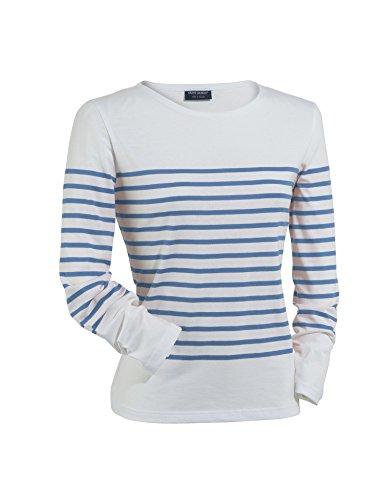 Saint James - Camiseta de manga larga - Rayas - para mujer