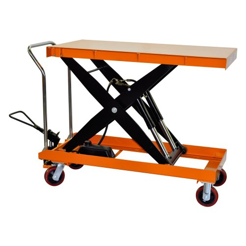 Bolton Tools New Hydraulic Scissor Lift Table Cart - 2200 LB of Capacity - 39.4'' Max Height - Model TF100D by Bolton Hardware