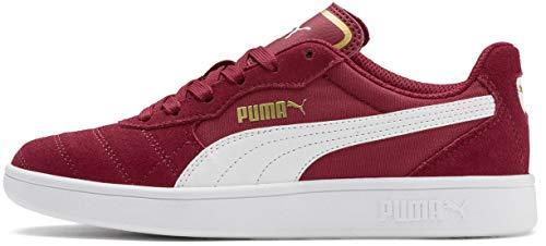 PUMA Unisex Astro Kick Sneaker, Rhubarb White Team Gold, 4.5 M US Big -