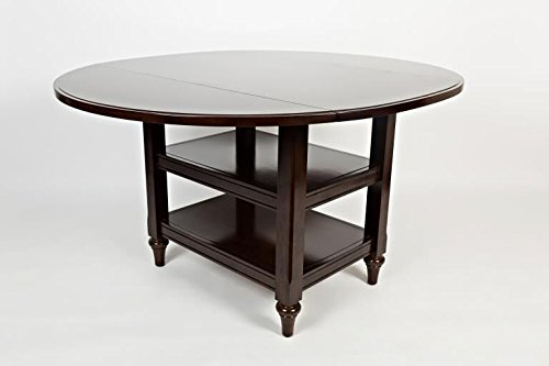 Boraam Harbor Cottage Drop Leaf Dining Table, Cappuccino