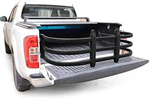 Drilling is Required Wonder Tech Pickup Truck Bed Extender for 2003-2020 Dodge Ram 1500//2500//3500 Black Matte Aircraft Grade Aluminum Alloyed Included Bracket Kit