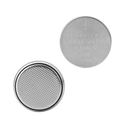 HOWWOH 1 Piece CR2032 CR 2032 Button Cell Coin Battery for Calculator Scale Remote Watch ()