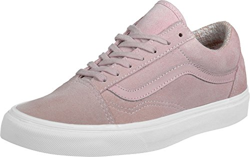 VansOld Skool - Zapatillas Unisex adulto Rosa (Suede/Woven Peachskin/True White)