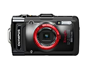 Olympus V104120U000 Stylus TG-2 Digital Camera with 4x Optical Zoom and 3-Inch LCD