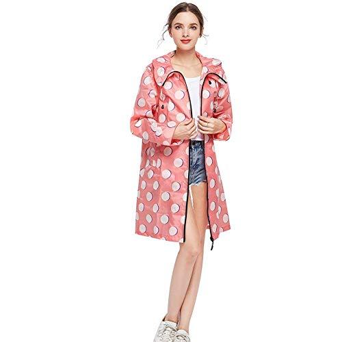 À Rose Fonctionnelle Chic Imperméables Imperméable Femmes Coupe vent Capuche Mode Veste Softshell Parka vUTn7qAw