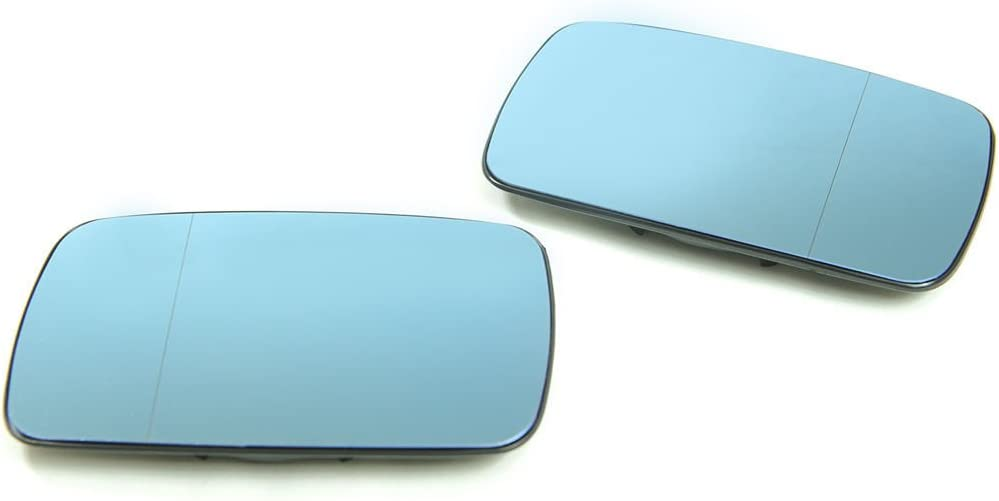 99-05 BMW E46 3-Series 4DR Polarized Blue Anti-Glare Split Mirror Glass