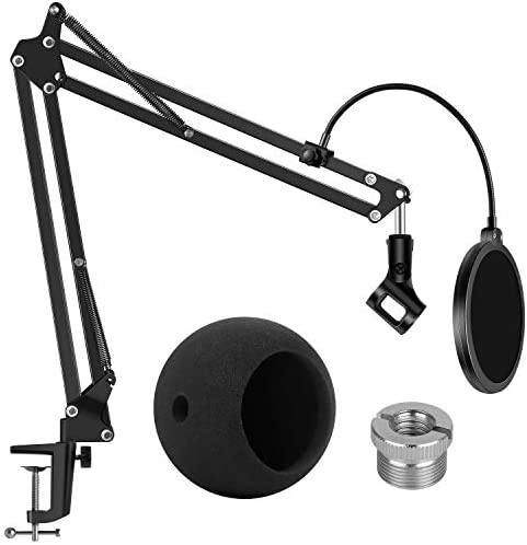 InnoGear Adjustable Mic Stand for Blue S