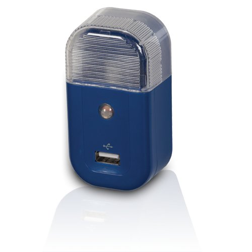 RCA USBNL3R USB Home Nightlight Charger - Blue (Audiovox Ipod)