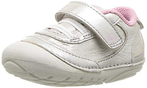 - Stride Rite Girls' Soft Motion Jazzy Sneaker, Champagne, 5 M US Toddler