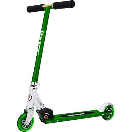 Razor S Light-Up Wheels Kick Scooter (Blue, Green or Purple) (Blue)