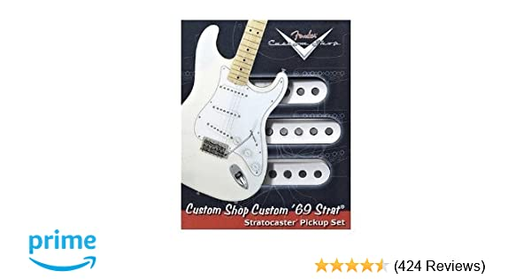 Amazon com: Fender Custom '69 Stratocaster Pickups: Musical Instruments