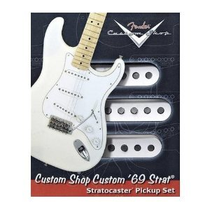 Fender Vintage Noiseless Stratocaster Pickups Set Amazon Com >> Fender Custom 69 Stratocaster Pickups