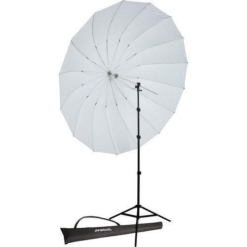 Westcott 4632P 7-Feet Parabolic Umbrella Speedlite Kit (White Diffusion) by Westcott (Image #2)