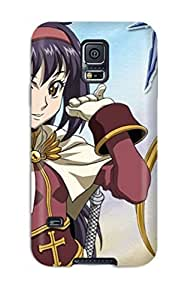 Galaxy S5 Hard Back With Bumper Silicone Gel Tpu Case Cover Ragnarok The Animation