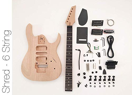 DIY Electric Guitar Kit - 6 string Build Your Own Guitar
