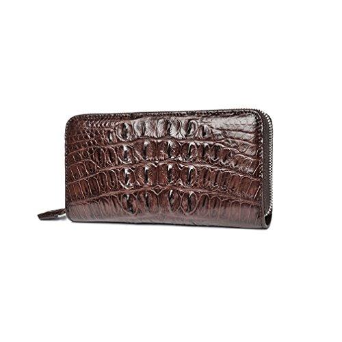 Long Skin Crocodile Leather Crocodile Wallet leather Crocodile clutch Wallet wRnqtx1Y0
